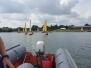Sailing on Grafham water Summer 2016